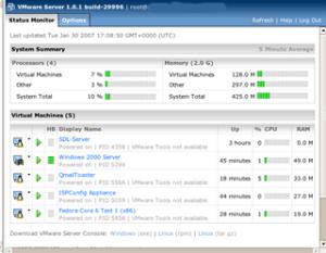 Instalando e Usando o Vmware Server em um Xeon 64 Bits ( Com Ubuntu 6.10 – 64 bits ) Parte 02