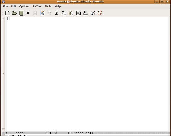 editor de texto emacs