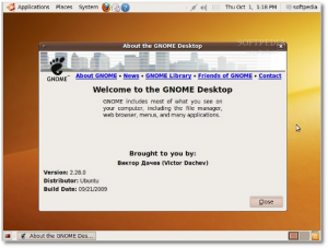 gnome 2.28 no ubuntu 9.10