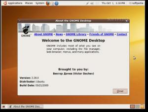 gnome 2.28 no ubuntu 9.10