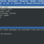 Instalando pacotes / softwares com aptitude no Ubuntu