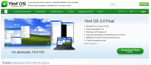 Linux com interface do windows 7
