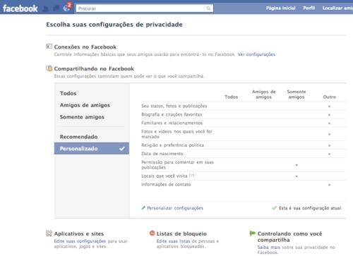 FACEBOOK MANUAL DE PRIVACIDADE 2 Como usar as configurações de privacidadeno Facebook