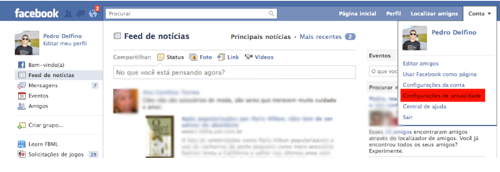 FACEOOOK MANUAL PRIVACIDADE Como usar as configurações de privacidadeno Facebook