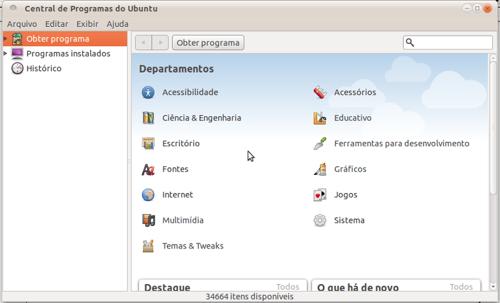 Ubuntu primeiro comando