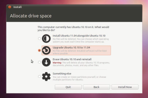 Como atualizar o Ubuntu 10.10 para o 11.04 (Natty)