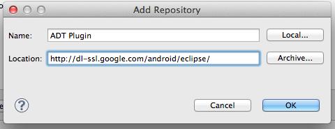 eclipe-adt-plugin