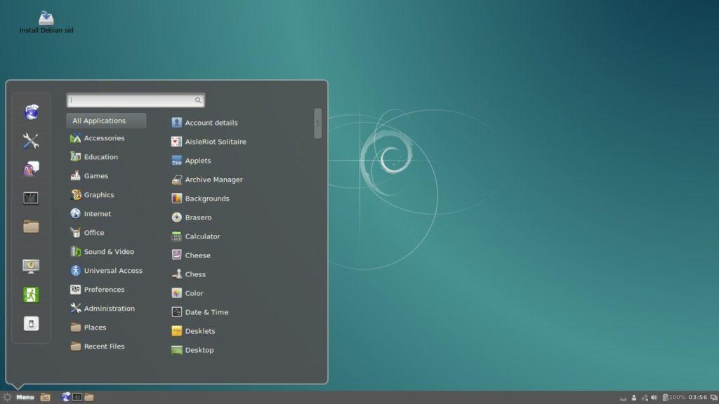 Cinnamon-rodando-no-debian-Debian-8-Jessie