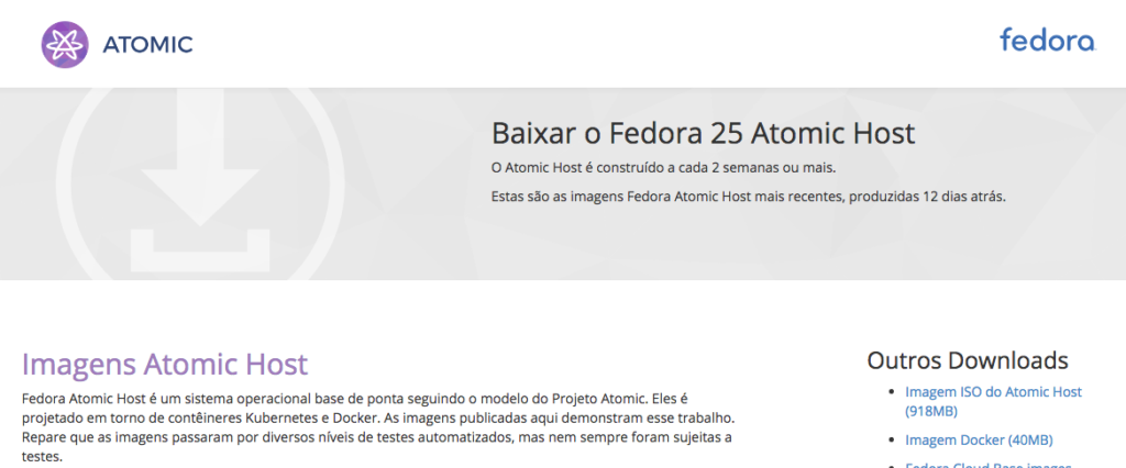 Fedora Atomic download