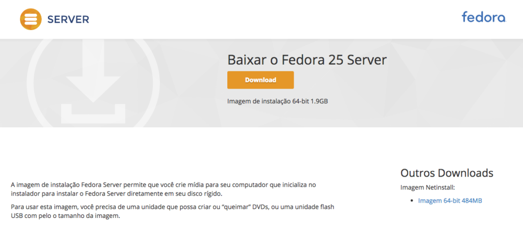 fedora server download