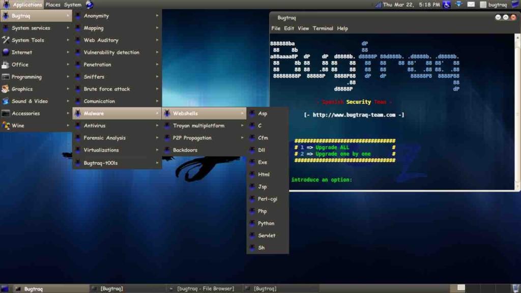 BugTraq Os Melhores Sistemas Operacionais Para Hacking Ético e Teste de Penetração