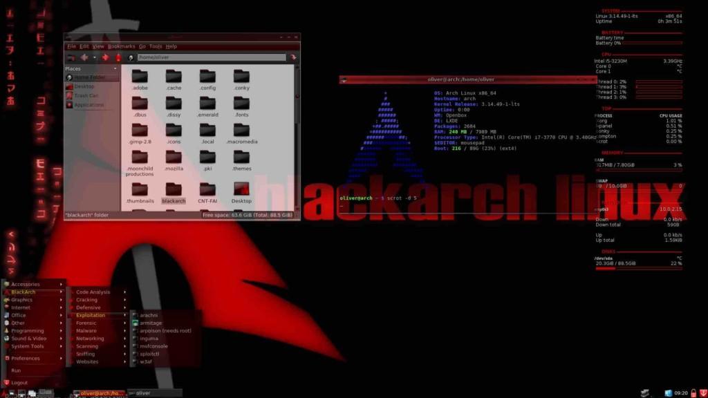 Blackarch Os Melhores Sistemas Operacionais Para Hacking Ético e Teste de Penetração