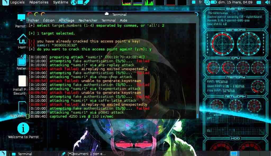 Parrot OS Os Melhores Sistemas Operacionais Para Hacking Ético e Teste de Penetração