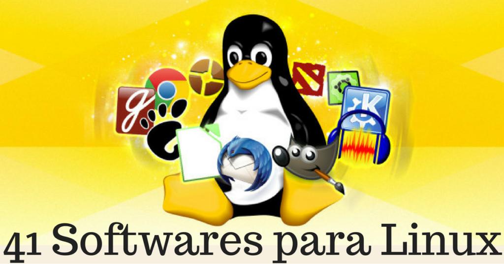 41 softwares para Linux que são a alternativa para qualquer outro