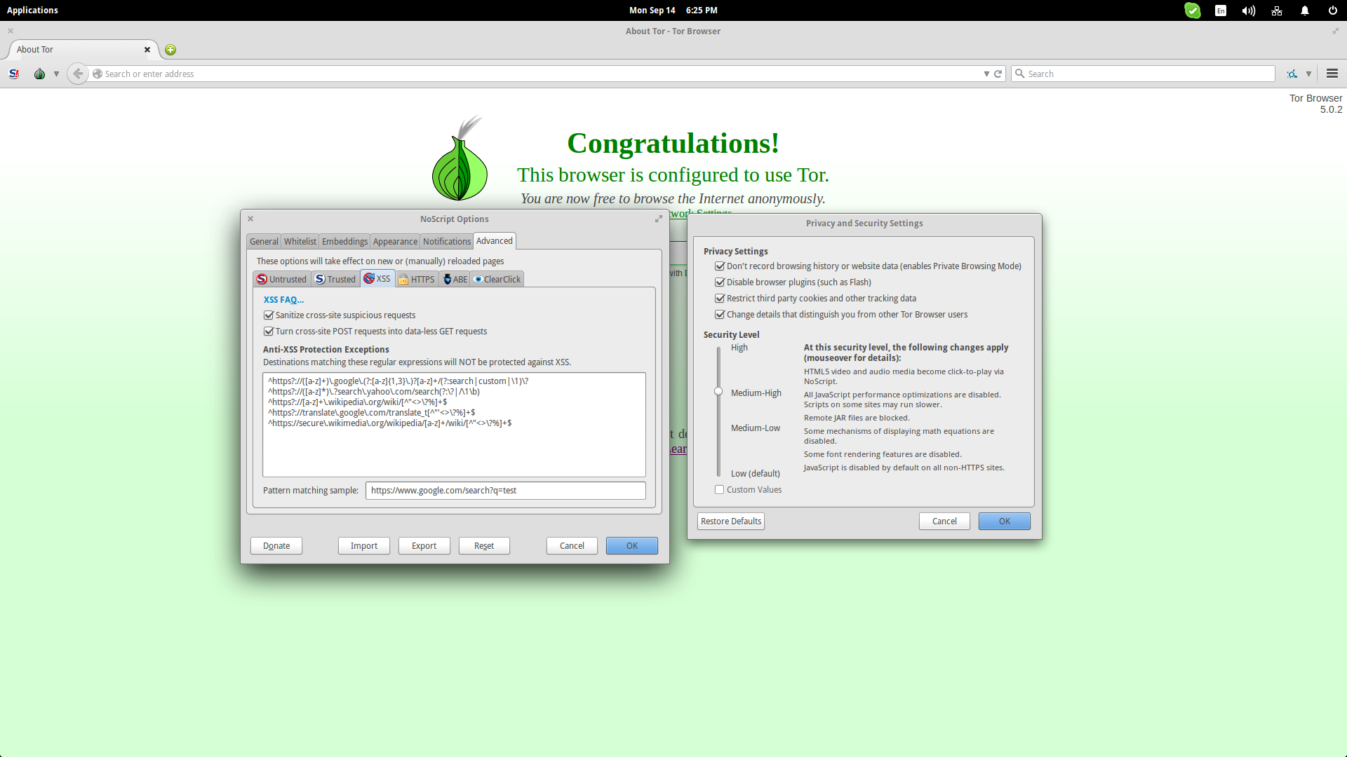 navegador tor configuracao
