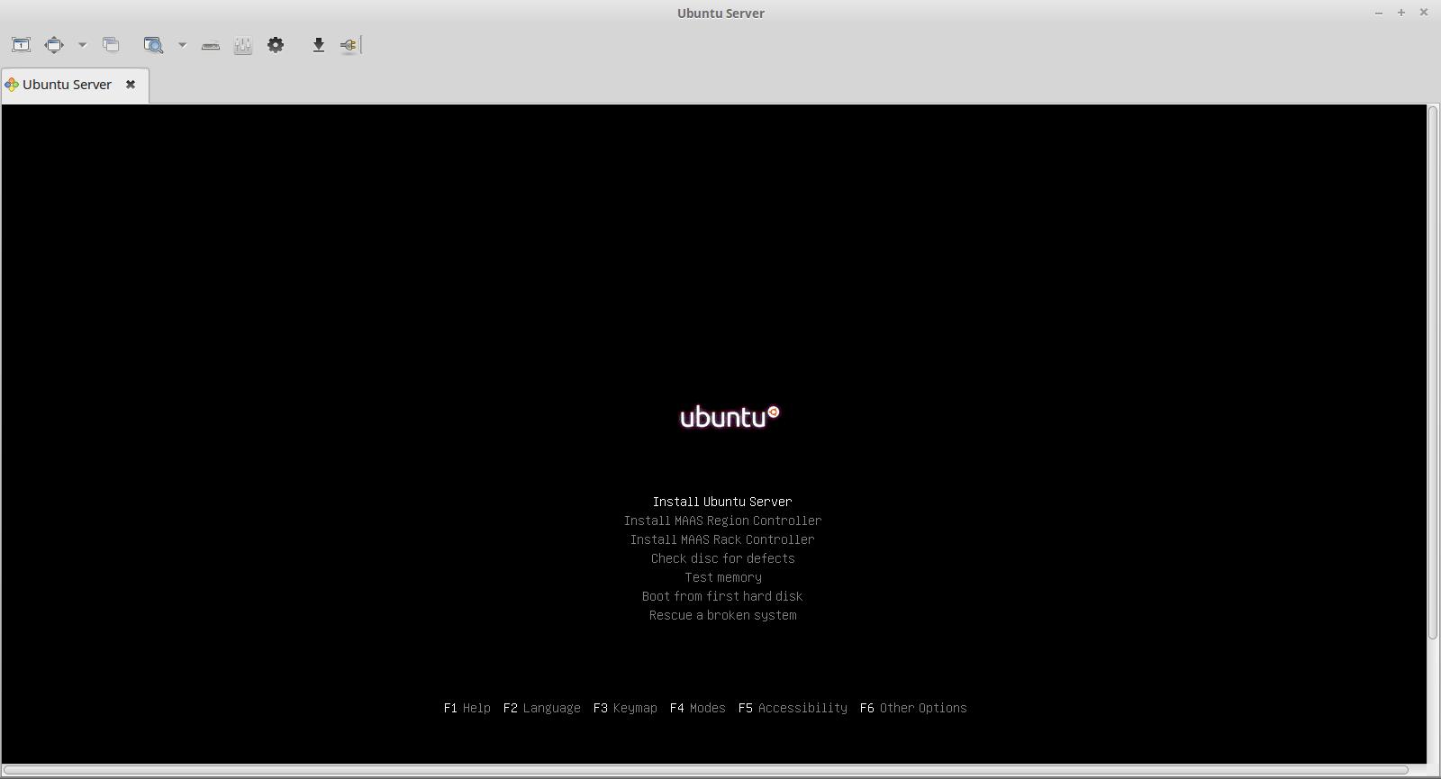 vitualbox server acessar remoto