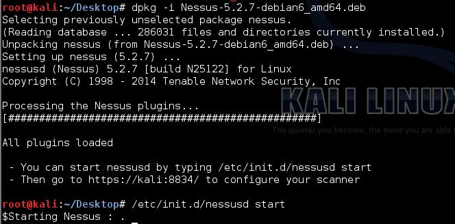 Nessus kali linux ferramenta para usar como hackers