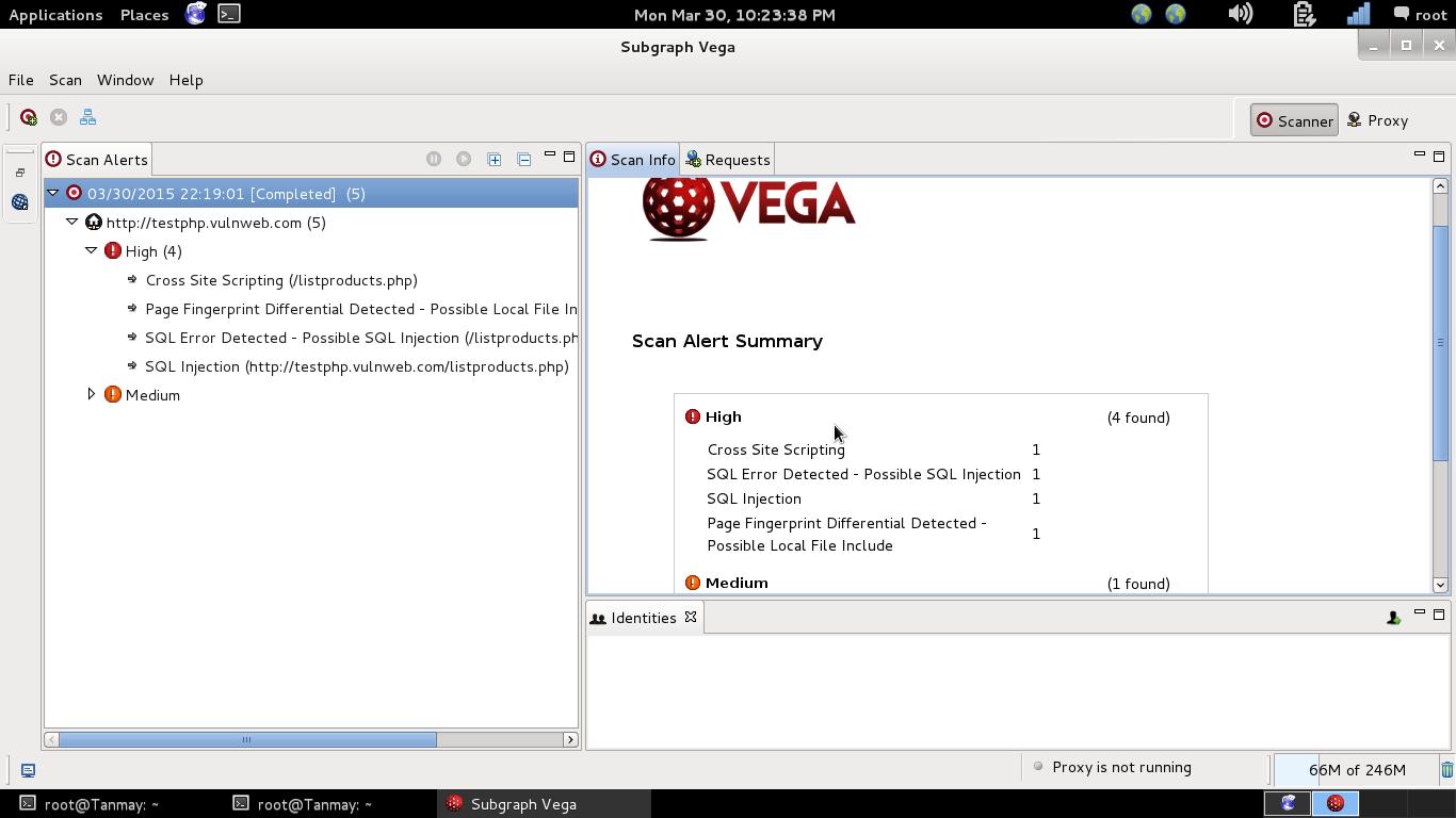 Vega ferramenta para hackers