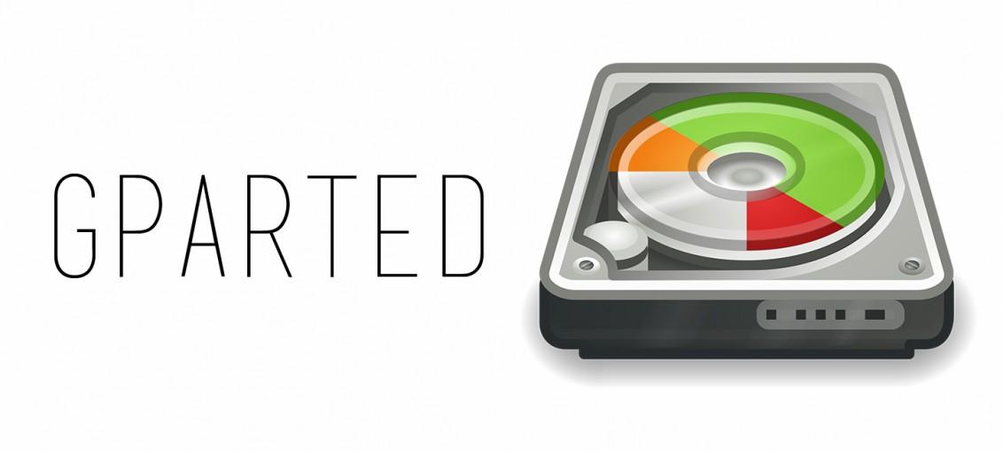 GParted particionar disco rigido linux