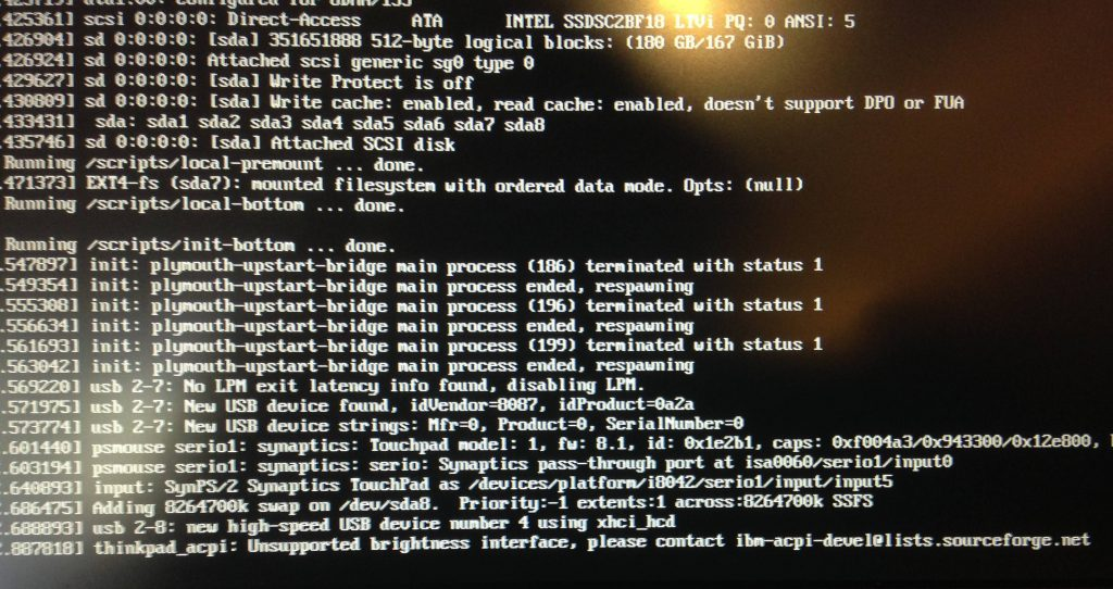 processo de boot no linux