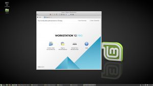 maquina virtual linux vmware workstationpro